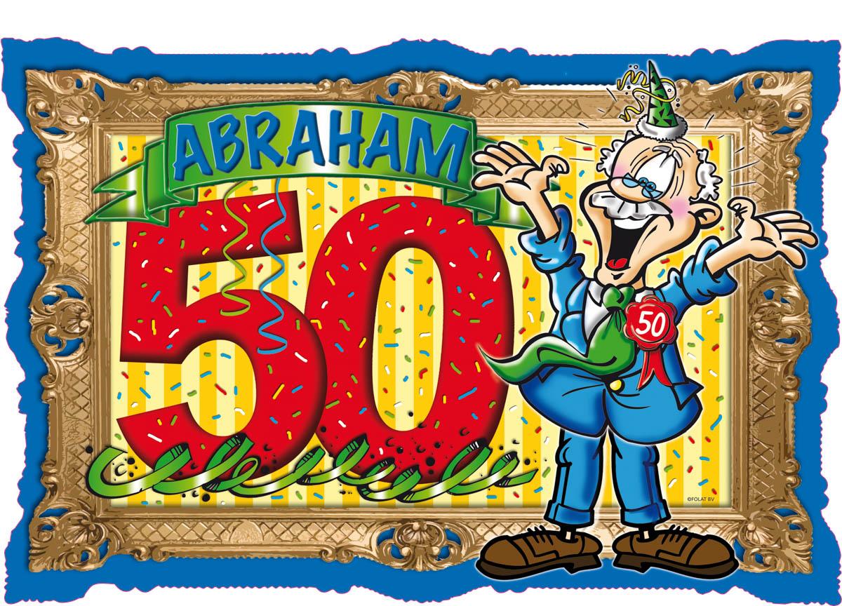 Betere Abraham 50 Jaar Deurbord Stripes - Feesthoek VF-98