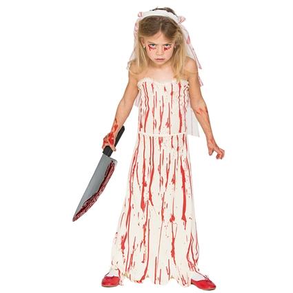 Halloween Kleding Almere.Kinderkleding Bruid Met Bloed Maat 128 140 10 12 Jaar Meisje