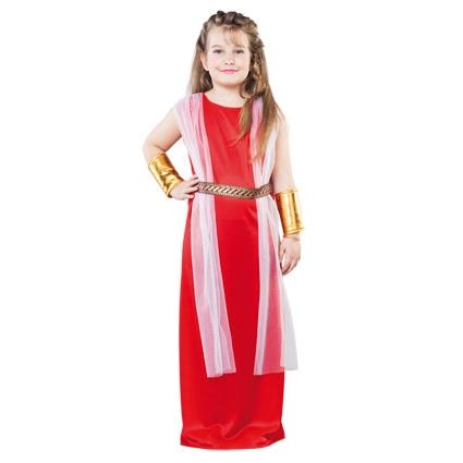 faf073e5e74d29 Kinderkleding Romeinse Jurk Maat 122-128 (7-9 Jaar) Meisje - Feesthoek