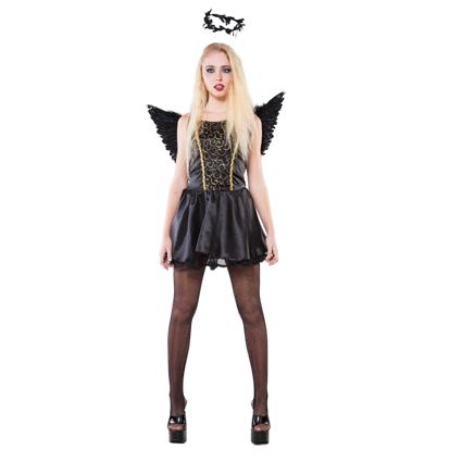 Halloween Kleding Almere.Kleding Dames Zwarte Fee Maat S M