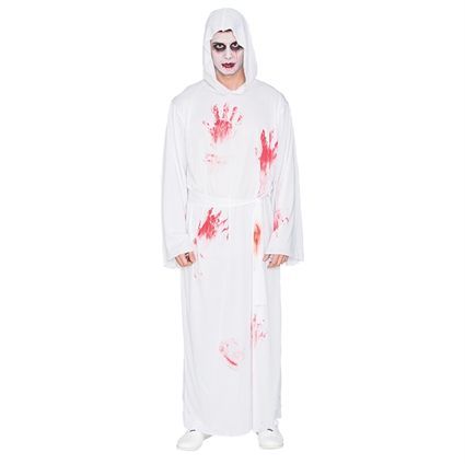 Halloween Kleding Almere.Kleding Halloween Wit Pak Met Bloed Maat L