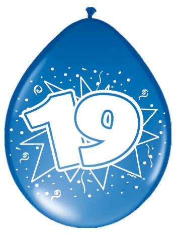 19 Jaar Ballonnen Feesthoek