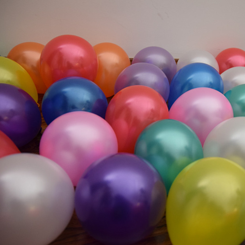 Onbedrukte ballonnen Metallic 5 inch