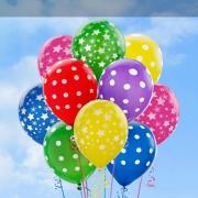 Bedrukte ballonnen (heliumbedrukt)