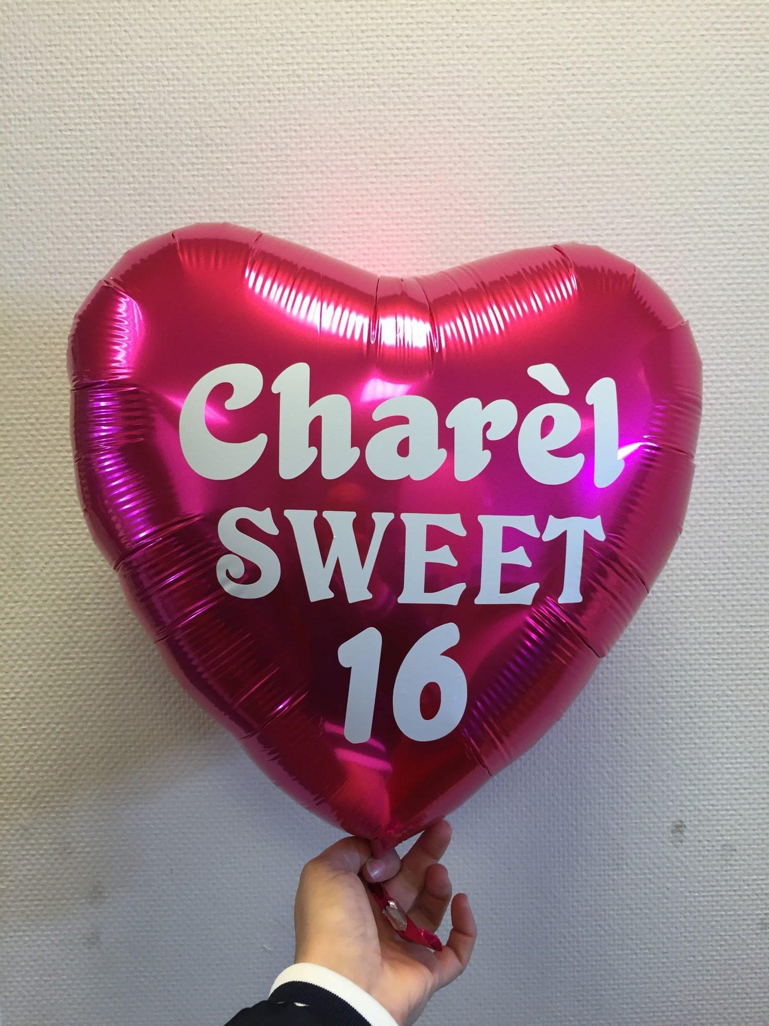 4d77a5df7ed Eigen tekst op een folieballon? Ook dat maken wij bij De Feesthoek!