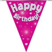 Happy Birthday en Hartelijk Gefeliciteerd